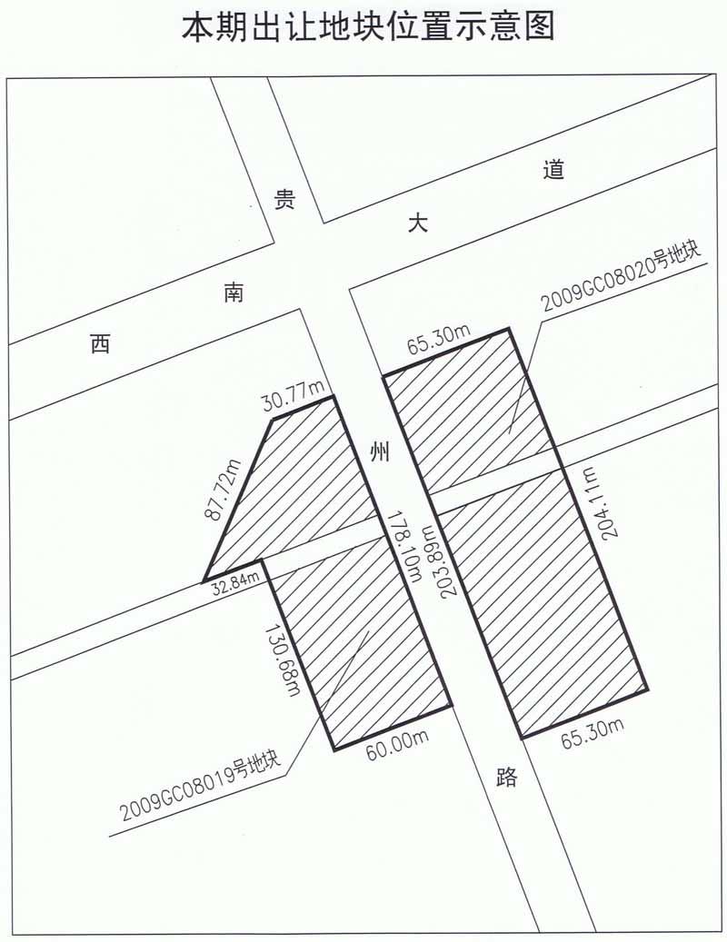 宗地图实测为准,其他规划参数详见北海市城市规划局北规设计字2008
